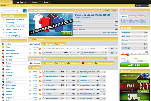 Bets Sports screen shot